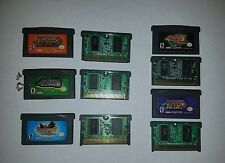 Mega Man Battle Network LOT 2 , 3, 4, 5, 6 Nintendo GameBoy Advance Authentic !