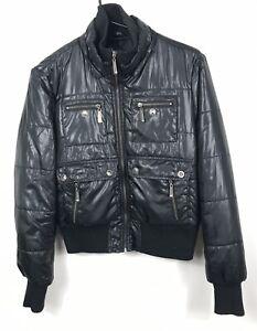 Apple Bottoms Zip Up Puffer Jacket - Size XL