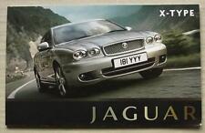JAGUAR X TYPE Car Sales Brochure 2009 #JLM/10/02/26/0908  SE Sport Premium ++