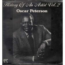 Oscar Peterson Lp Vinile History Of An Artist Vol. 2 / Pablo Records Sigillato