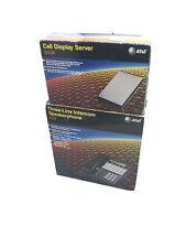 1993 At&T #843 Three-Line Intercom Speakerphone + #843A Call Display Server Set