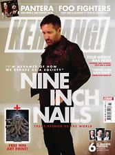 UK Kerrang! Magazine July 2018: Nine Inch Nails (Trent Reznor) World Exclusive