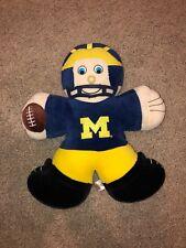 Michigan Uofm Football Player Stuffed Animal Plush