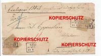 Beleg Norddeutscher Postbezirk 5 Groschen Stempel Neustadt Westpreussen Wejherow