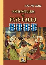 Contes populaires du Pays Gallo — Adolphe Orain