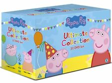 Peppa Pig Ultimate Collection New Sealed DVD Box Set 20 Discs Boxset OZ STOCK