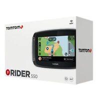 TOMTOM RIDER 550 NAVIGATORE SATELLITARE GPS MAPPE MONDO 2019 MOTO APRILIA