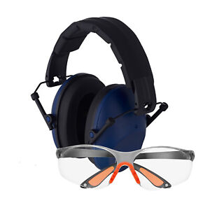 Gun Range Shooting Ear Protection Earmuffs for Shooting Ear & Eye Protection Com