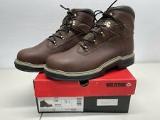 Wolverine Men's Steel Toe Work Boot W04822 Buccaneer 6� Contour Welt Size 13