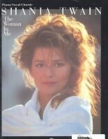 SHANIA TWAIN  Sheet Music Songbook THE WOMAN IN ME 1996 Piano Vocal Guitar