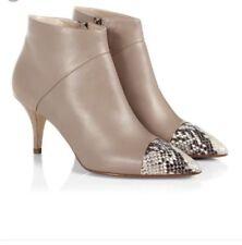 Hobbs 100% Leather Slim Heel Boots for Women
