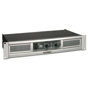 QSC GX5 Power Amplifier (500W @ 8ohms).  Brand New