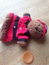 Fireman Teddy Bear Glove Puppet Baby Gap
