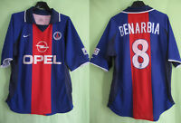 Maillot PSG Paris Saint Germain 2000 Benarbia #8 OPEL Nike Vintage Jersey - S