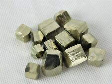 100g of Small Pyrite Crystal Cubes Fools Gold Iron Great Gift Arts Crafts Spain