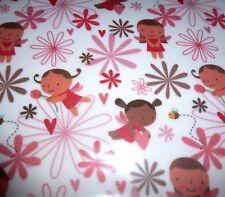20 Sheets A4 Fairy Garden Vellum Sheer Paper Bees Flower Fairies Childrens Party
