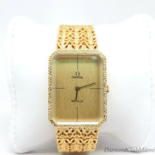 Vintage OMEGA Deville Octagon 18K Yellow Gold Watch  76.8 Grams