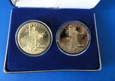 Two 1933 St Gaudens Proof Fantasy Coins - National Collectors Mint