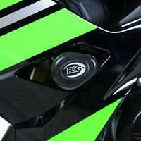 R&G Black Aero Crash Protectors for Kawasaki Ninja 650 2018