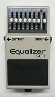 BOSS GE-7 Equalizer Guitar Effects Pedal made in Japan 1991 #197 Free Shipping