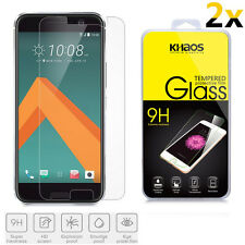 2x KHAOS Ballistic Tempered Glass Screen Protector For HTC One M10 / HTC 10