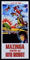 : Mazinger Con Gli UFO Robot Goldrake Daimos Animation Toei Movie L14