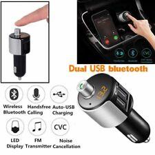 KFZ Bluetooth 4.2 FM Transmitter Auto Radio MP3 Player Dual USB SD Karte Adapter