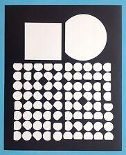 Victor VASARELY III Offset Originale de 1973 Op Art Optique Cinétique 44ans