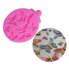 New 3D Butterfly Cake Decorating Molds Silicone Chocolate Fondant Mould
