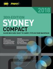 Sydney Compact Street Directory 2018 30th ed ' UBD Gregory's