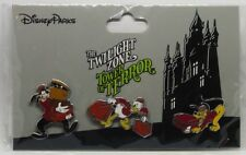 Disney Trading Pins *Twilight Zone TOWER OF TERROR * Sealed Collectible Set of 3