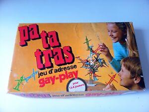 COMPLET Vintage 1971 Jeu de société Patatras éditions gay-play Paris occasion