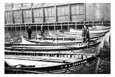 rp02665 - White Star Liner - Titanic , recovered lifeboats- photo 6x4