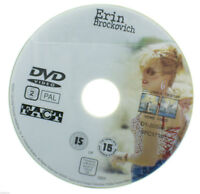 Erin Brockovich DVD R2 PAL - Julia Roberts Film Drama Movie DISC ONLY in Sleeve