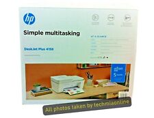 HP DeskJet Plus 4158 All-in-One Color Inject Printer, Scan & Copy ¥