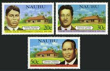 Nauru 224-226, MNH. Legislative Council, 30th ann. Detudamo,Gadabu,DeRoburt,1981