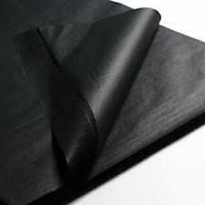 """Black Tissue Paper~24 Premium Sheets~Gift Wrap Large 20""""x 30"""" Birthday Party"""