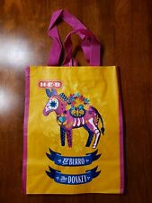 """Heb Reusable Shopping Bag - Day of the Dead - El Burro """"The Donkey"""""""
