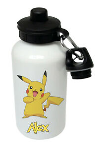 Pikachu - Personalised Kids/Drinks/Sports Childrens Water Bottle