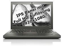 "Lenovo ThinkPad X240 i5 4300U 1,9GHz 4GB 500GB 12,5"" Win 10 Pro UMTS 1920x1080 I"
