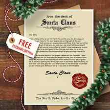 Personalised Christmas Letter From Santa Claus With Matching Envelope Design 2