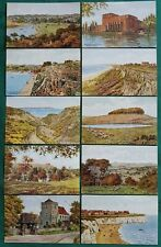 A. R. QUINTON POSTCARDS 50 CARDS ALL DIFFERENT BETWEEN 3780-4206 SEE DESCRIPTION