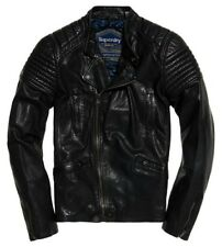 NEW Superdry SD Endurance Super Circuit Racer Leather Jacket - XL
