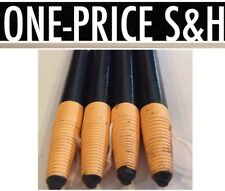 4 BLACK Dixon Phano Peel-Off China Marker Pencils #00077 NEW from Box