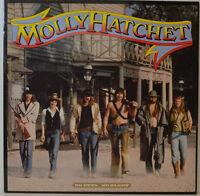 """MOLLY HATCHET - NO GUTS NO GLORY - EPIC 25244 - 12"""" LP (Y390)"""