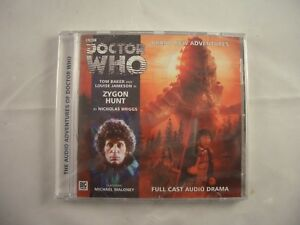 Doctor Who Zygon Hunt Full Cast Audio CD