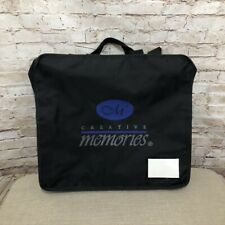 Creative Memories Tote Bag Black Memory Mate Pockets Holder Carry Organize