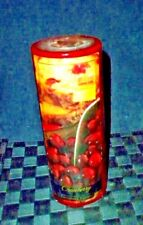 Lamplight Farms Red Cranberry Scentled Pillar Candle
