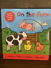 LIKE NEW On The Farm - Kait Eaton (Board-book. 2008) 2192
