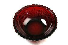 Vintage Avon Centennial Edition Cape Cod Red Serving Bowl (Studio-Box 3-4)